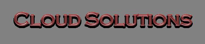 Cloud Solutions T